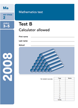 2008-SATs-Maths-B-Calculator