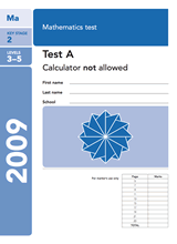 2009-SATs-Maths-A-Non-Calculator
