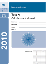 2010-SATs-Maths-A-Non-Calculator