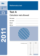 2011-SATs-Maths-A-Non-Calculator