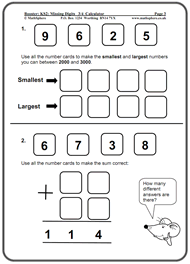KS2 Maths SATs Revision Program SamplesBoosting from Level 3 to Level 4